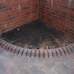 Block Paved Flower Bed