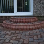 Block Paved Steps and Patio